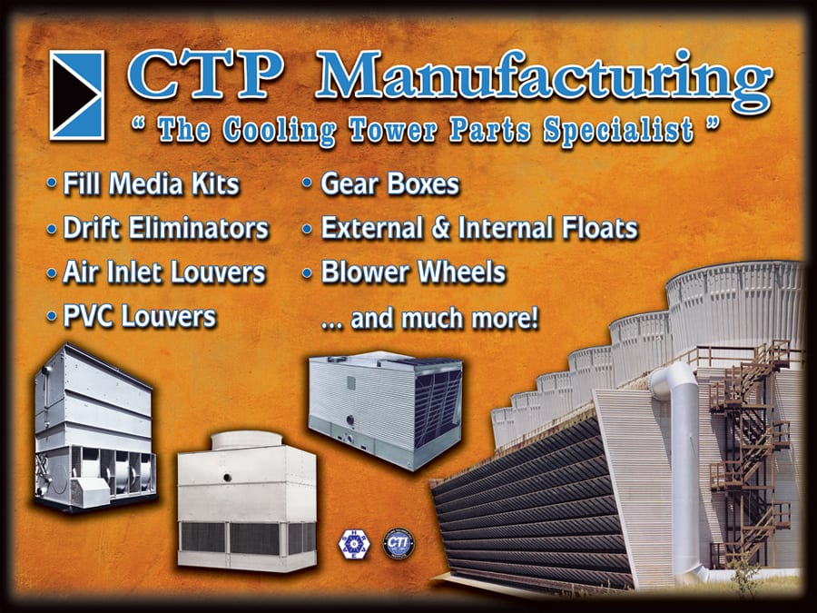Explanation of cooling tower products from the cooling tower parts specialist
